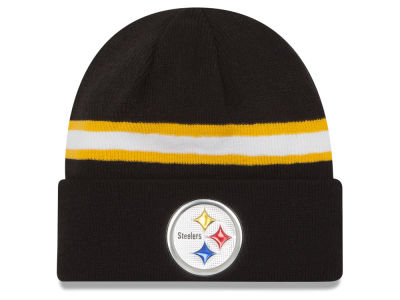 Pittsburgh Steelers New Era 2016 NFL On Field Color Rush Knit