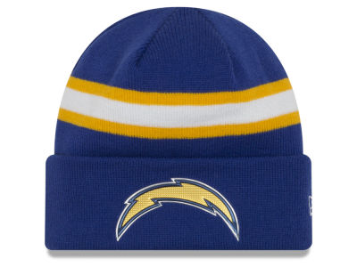 San Diego Chargers New Era 2016 NFL On Field Color Rush Knit