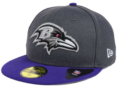 Baltimore Ravens New Era NFL Shader Melt 59FIFTY Cap