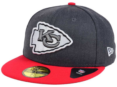 Kansas City Chiefs New Era NFL Shader Melt 59FIFTY Cap