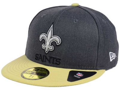 New Orleans Saints New Era NFL Shader Melt 59FIFTY Cap