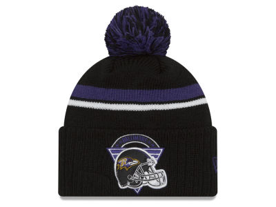 Baltimore Ravens New Era NFL Diamond Stacker Knit