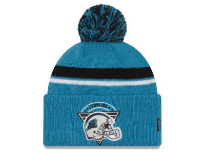 Carolina Panthers New Era NFL Diamond Stacker Knit