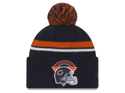 Chicago Bears New Era NFL Diamond Stacker Knit