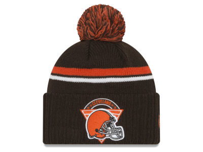 Cleveland Browns New Era NFL Diamond Stacker Knit