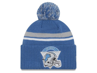 Detroit Lions New Era NFL Diamond Stacker Knit