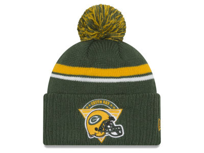 Green Bay Packers New Era NFL Diamond Stacker Knit