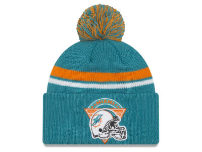 Miami Dolphins New Era NFL Diamond Stacker Knit