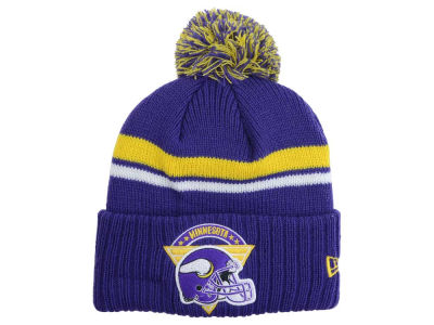 Minnesota Vikings New Era NFL Diamond Stacker Knit