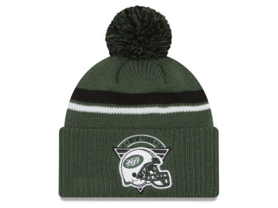 New York Jets New Era NFL Diamond Stacker Knit