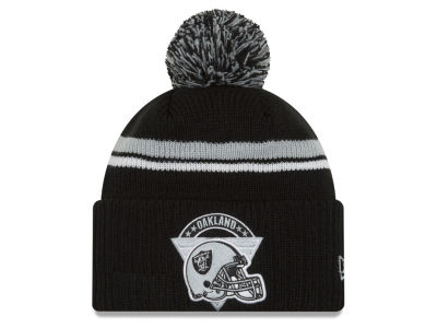 Oakland Raiders New Era NFL Diamond Stacker Knit