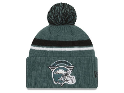 Philadelphia Eagles New Era NFL Diamond Stacker Knit