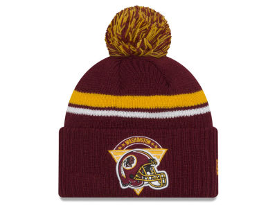 Washington Redskins New Era NFL Diamond Stacker Knit