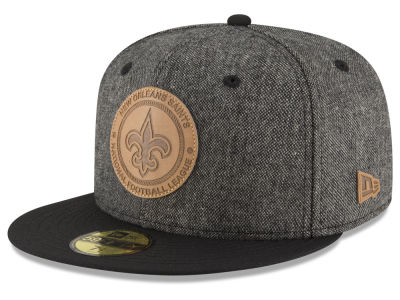 New Orleans Saints New Era NFL Vintage Tweed 59FIFTY Cap