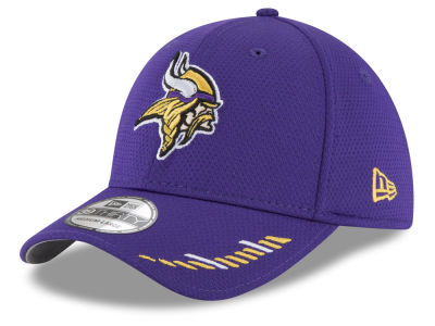 Minnesota Vikings New Era NFL Team Hashmark 39THIRTY Cap