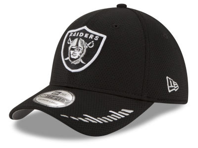 Oakland Raiders New Era NFL Team Hashmark 39THIRTY Cap