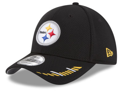 Pittsburgh Steelers New Era NFL Team Hashmark 39THIRTY Cap