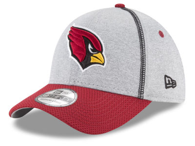 Arizona Cardinals New Era NFL Gray Stitch 39THIRTY Cap