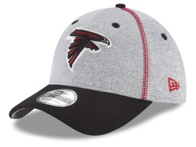 Atlanta Falcons New Era NFL Gray Stitch 39THIRTY Cap