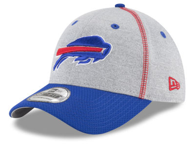 Buffalo Bills New Era NFL Gray Stitch 39THIRTY Cap