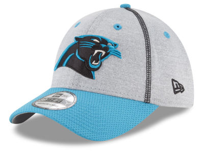 Carolina Panthers New Era NFL Gray Stitch 39THIRTY Cap