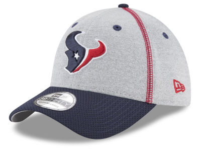 Houston Texans New Era NFL Gray Stitch 39THIRTY Cap