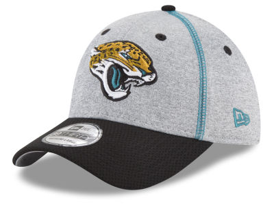 Jacksonville Jaguars New Era NFL Gray Stitch 39THIRTY Cap