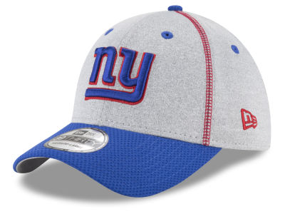 New York Giants New Era NFL Gray Stitch 39THIRTY Cap