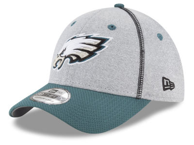 Philadelphia Eagles New Era NFL Gray Stitch 39THIRTY Cap