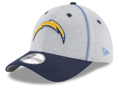 San Diego Chargers New Era NFL Gray Stitch 39THIRTY Cap