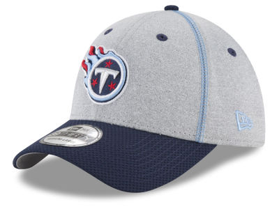 Tennessee Titans New Era NFL Gray Stitch 39THIRTY Cap