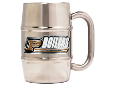 Purdue Boilermakers 16oz Double Wall Barrel Mug
