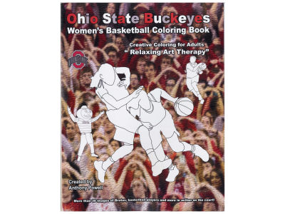 Ohio State Buckeyes Creative Coloring Book