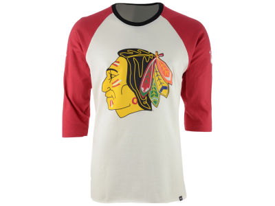 Chicago Blackhawks '47 NHL Men's Expansion Veterans Raglan Long Sleeve T-Shirt