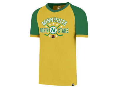 Minnesota North Stars '47 NHL Men's Expansion Ship Raglan Ringer T-Shirt