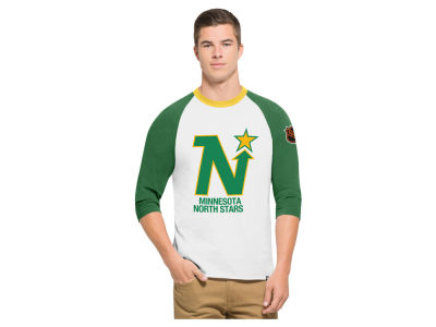 Minnesota North Stars '47 NHL Men's Expansion Veterans Raglan Long Sleeve T-Shirt