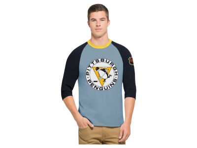 Pittsburgh Penguins '47 NHL Men's Expansion Veterans Raglan Long Sleeve T-Shirt