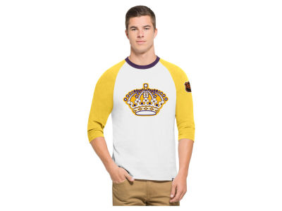 Los Angeles Kings '47 NHL Men's Expansion Veterans Raglan Long Sleeve T-Shirt