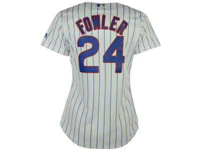 Chicago Cubs Dexter Fowler Majestic MLB Women's Cool Base Player Replica Jersey
