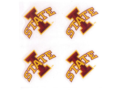 Iowa State Cyclones Waterless Game Face Tattoo