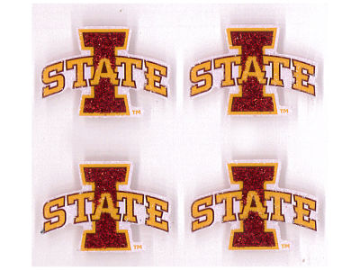 Iowa State Cyclones Fandazzlerz Face Tattoos