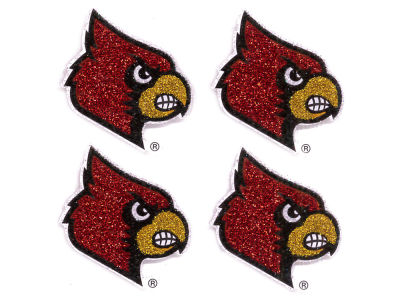 Louisville Cardinals Fandazzlerz Face Tattoos