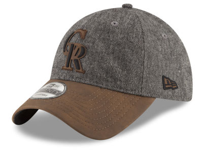 Colorado Rockies New Era MLB Butter Tweed 9TWENTY Cap