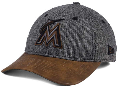Miami Marlins New Era MLB Butter Tweed 9TWENTY Cap