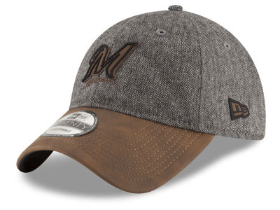 Milwaukee Brewers New Era MLB Butter Tweed 9TWENTY Cap