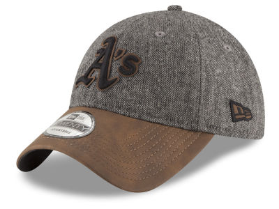 Oakland Athletics New Era MLB Butter Tweed 9TWENTY Cap