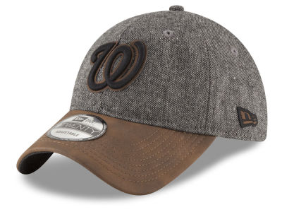 Washington Nationals New Era MLB Butter Tweed 9TWENTY Cap