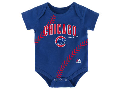 Chicago Cubs MLB Newborn Fan Creeper