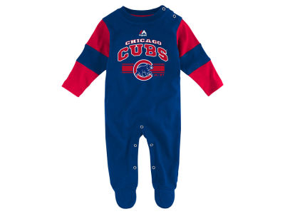 Chicago Cubs MLB Newborn Coverall