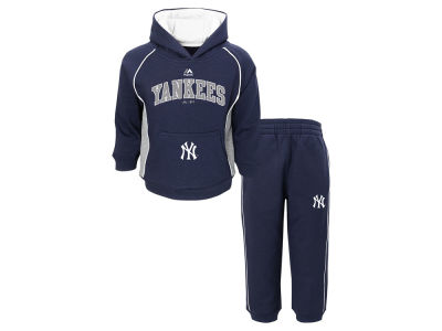 New York Yankees MLB Toddler Lil Fan Fleece Set